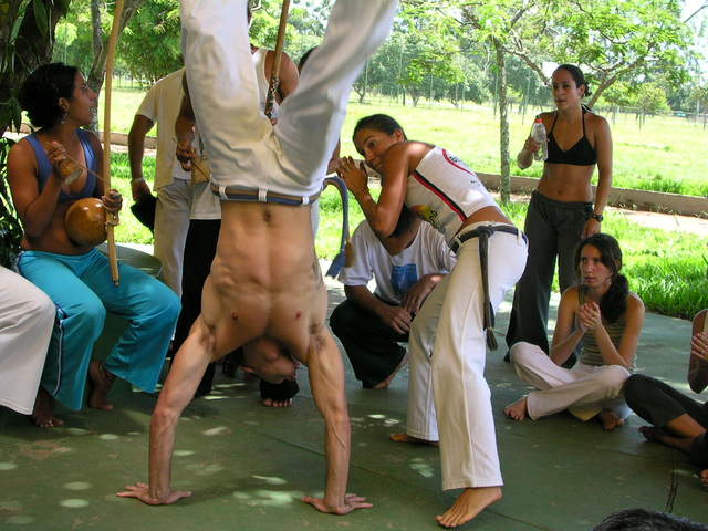 Capoeira Workshops for Schools.