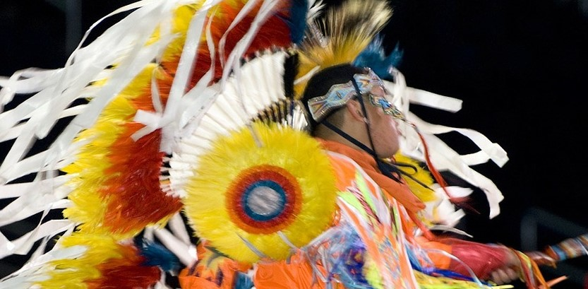 Native American Indian dancer