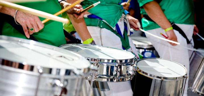 Samba Drumming Workshops for Schools