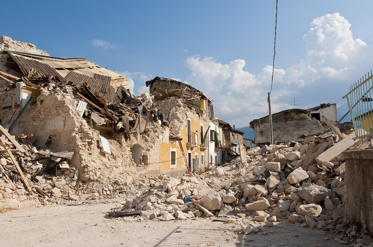 Earthquakes Geography Workshops for Schools
