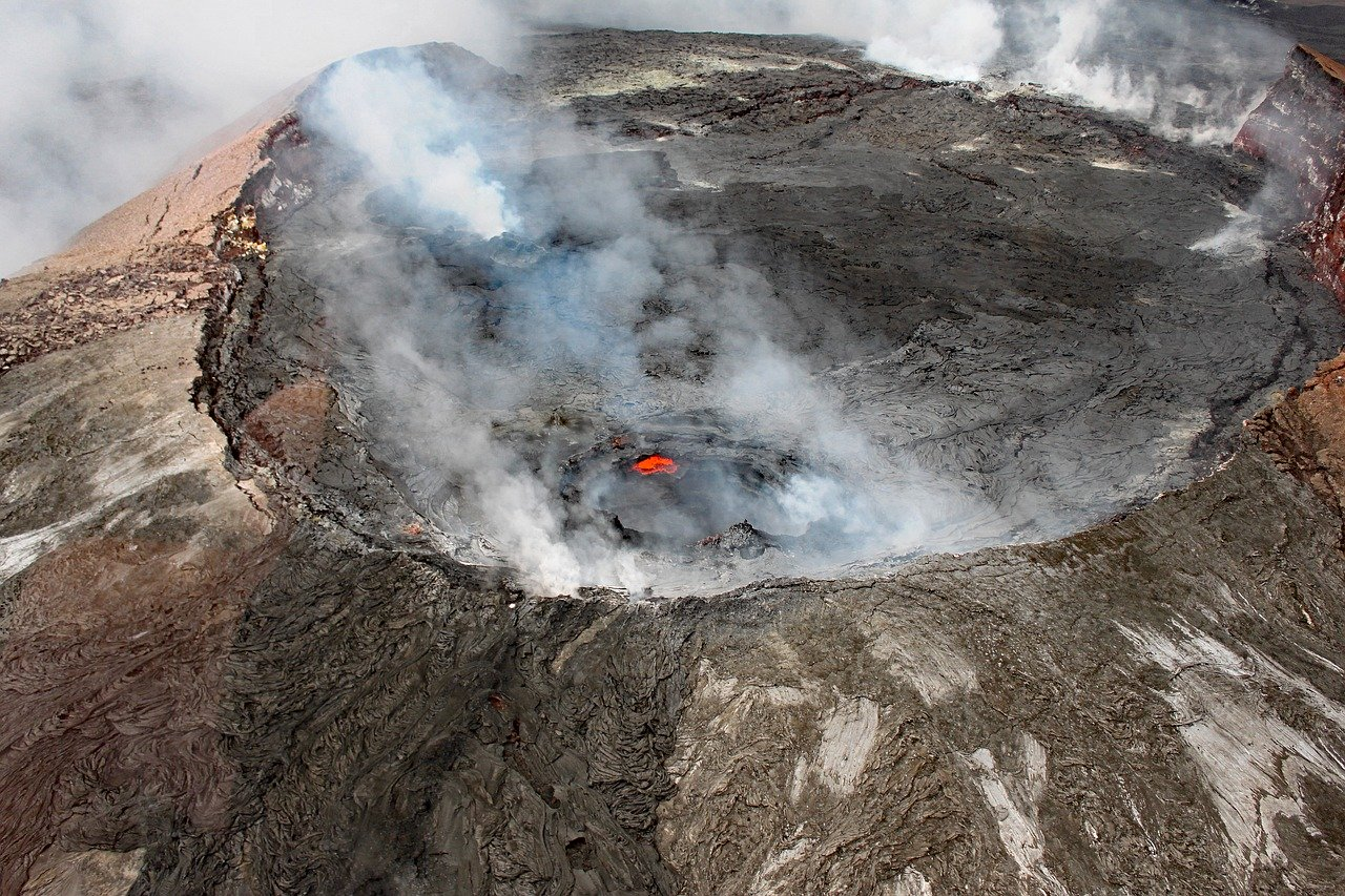 Volcanoes Geography Workshops for Schools