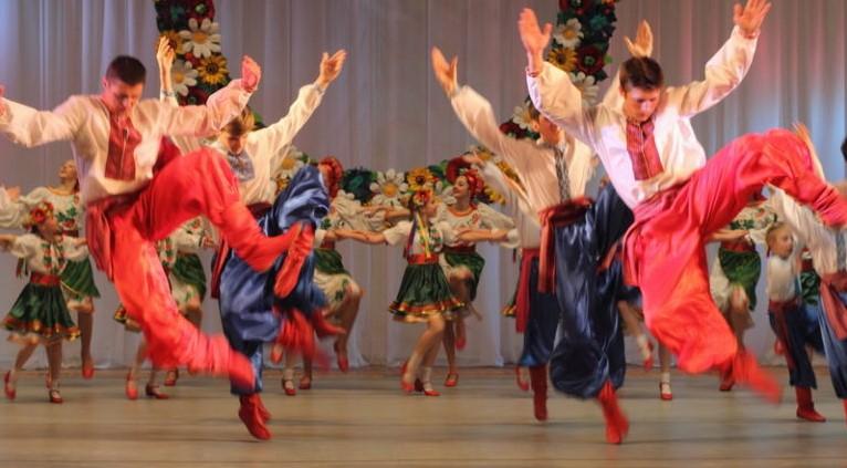 Ukrainian Dance Workshops for Schools