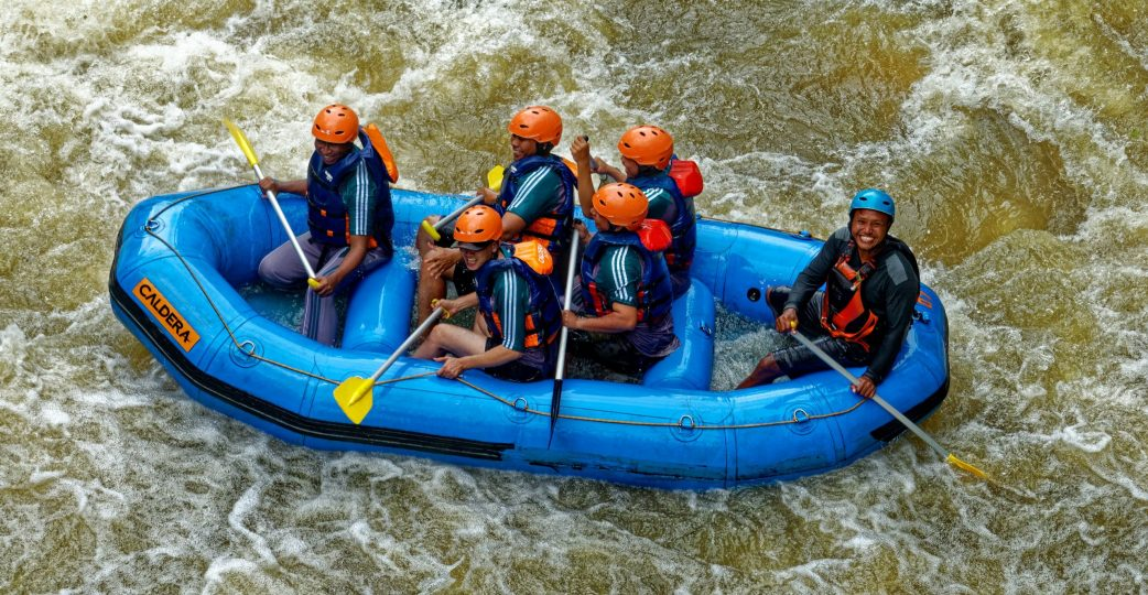 White Water Rafting Centres for School Trips