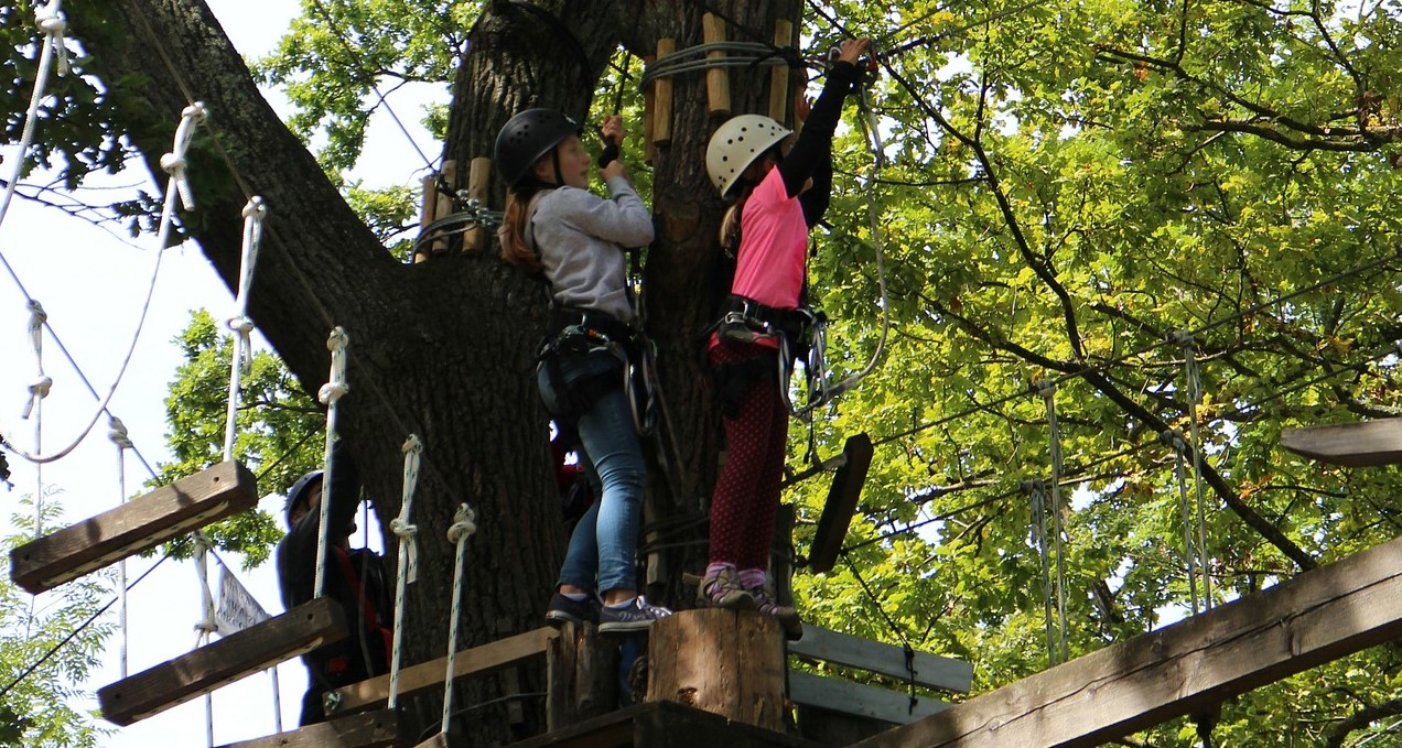 High Ropes Courses for School Trips